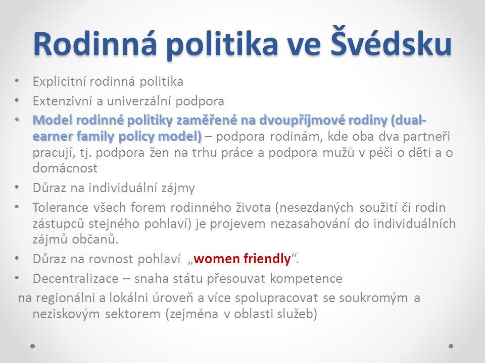 Rodinná politika ve Švédsku