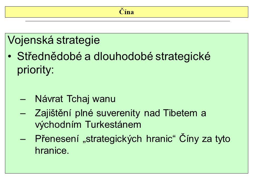 Střednědobé a dlouhodobé strategické priority: