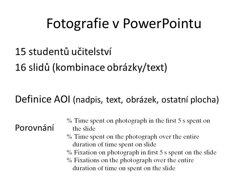Fotografie v PowerPointu