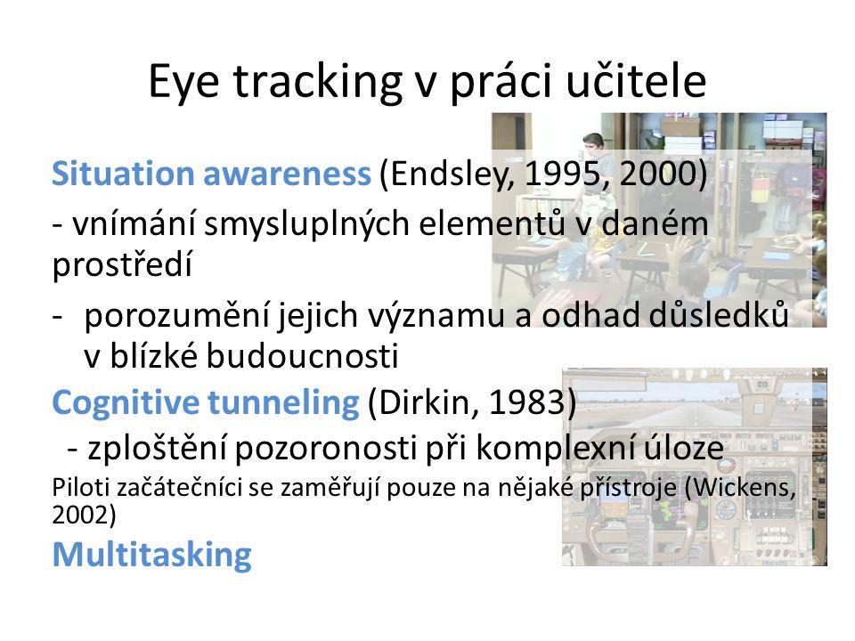 Eye tracking v práci učitele