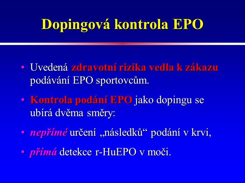 Dopingová kontrola EPO