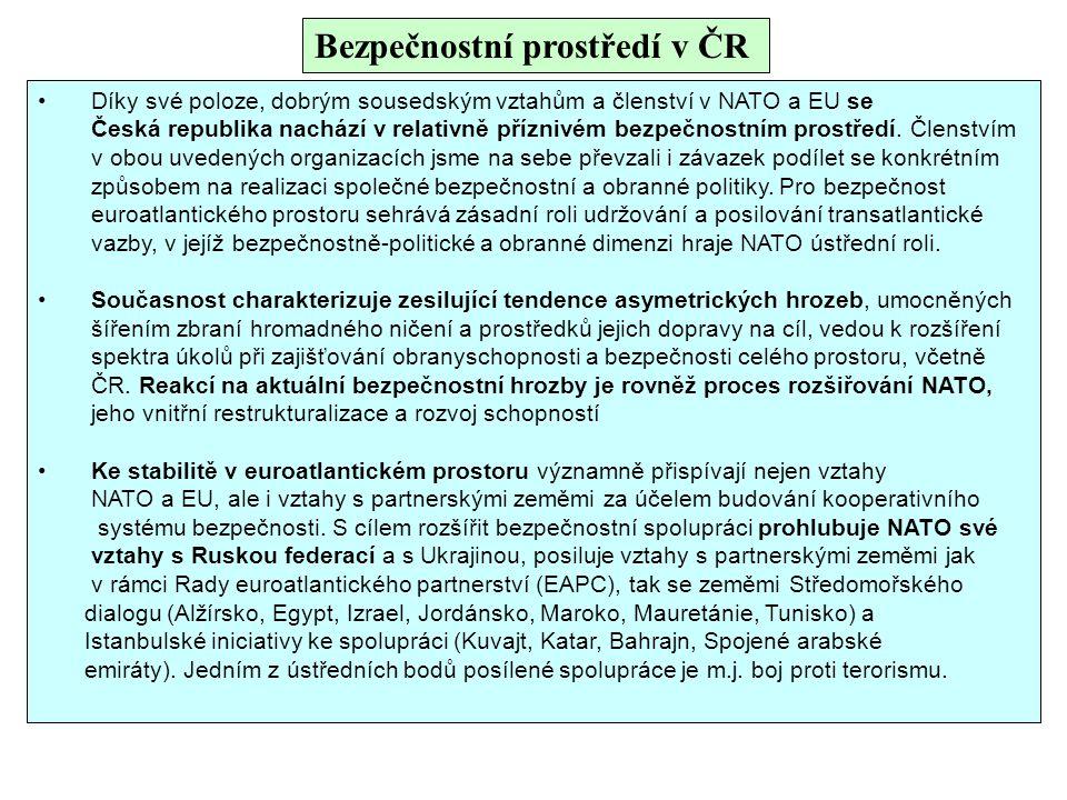 Bezpečnostní prostředí v ČR