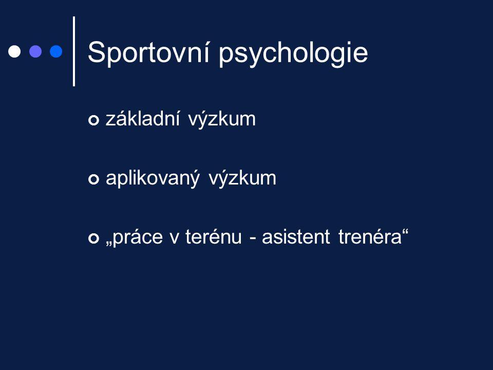 Sportovní psychologie