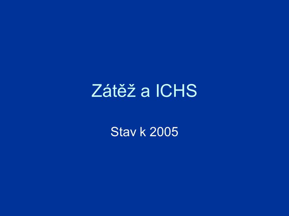 Zátěž a ICHS Stav k 2005