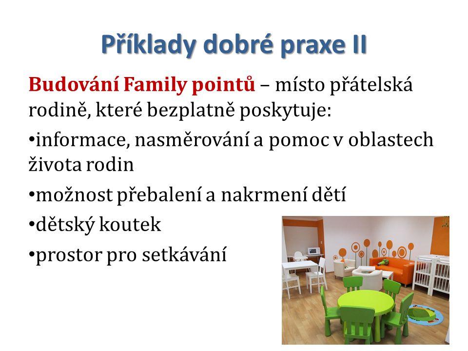 Příklady dobré praxe II