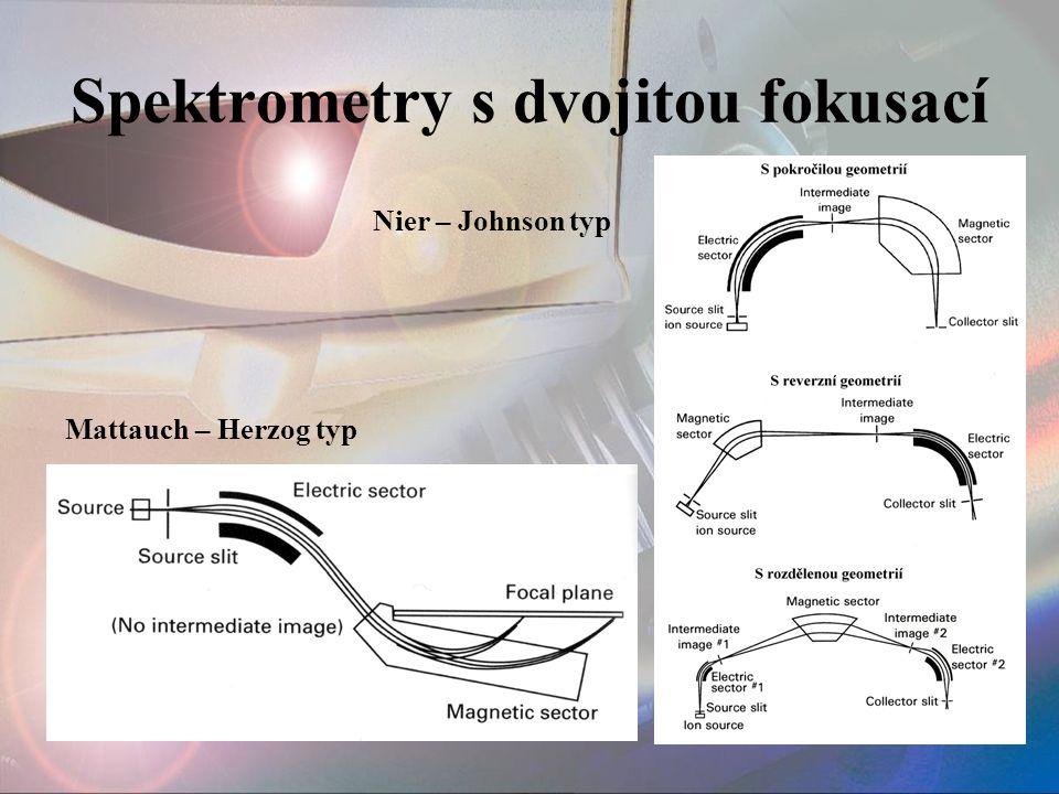 Spektrometry s dvojitou fokusací