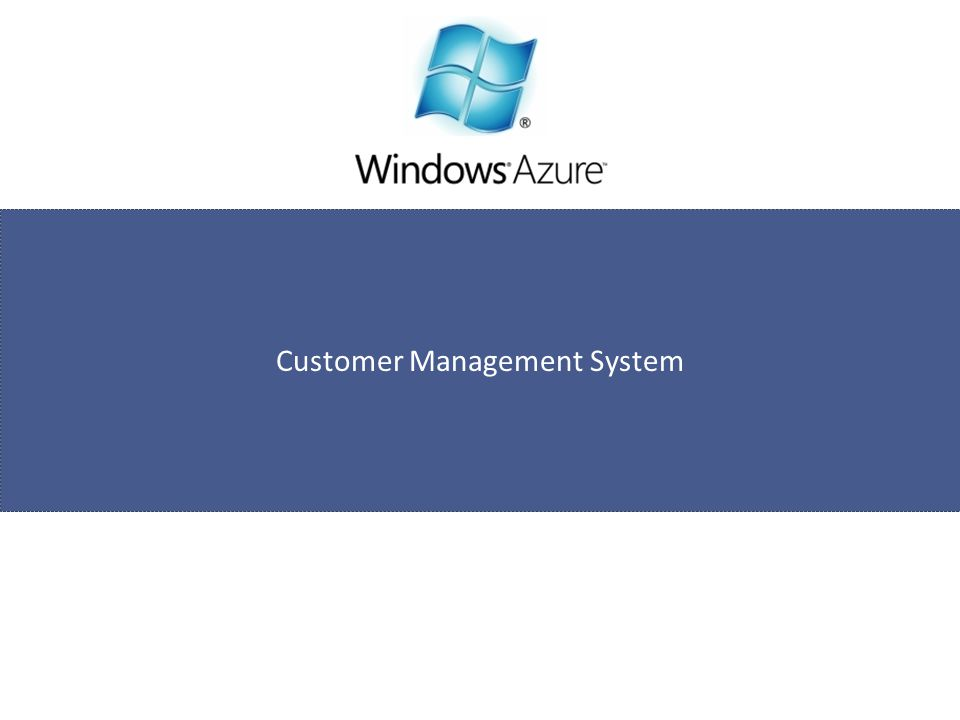 Customer Management System