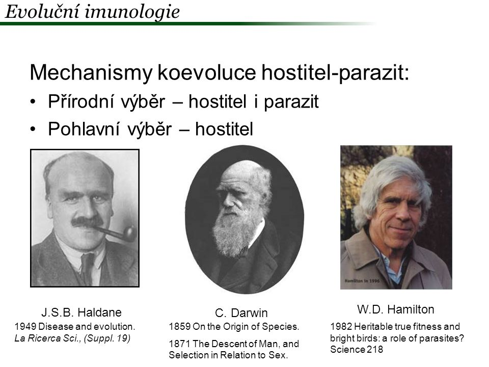 Mechanismy koevoluce hostitel-parazit: