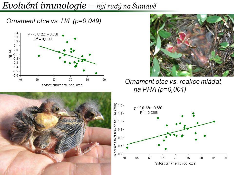 Evoluční imunologie – hýl rudý na Šumavě
