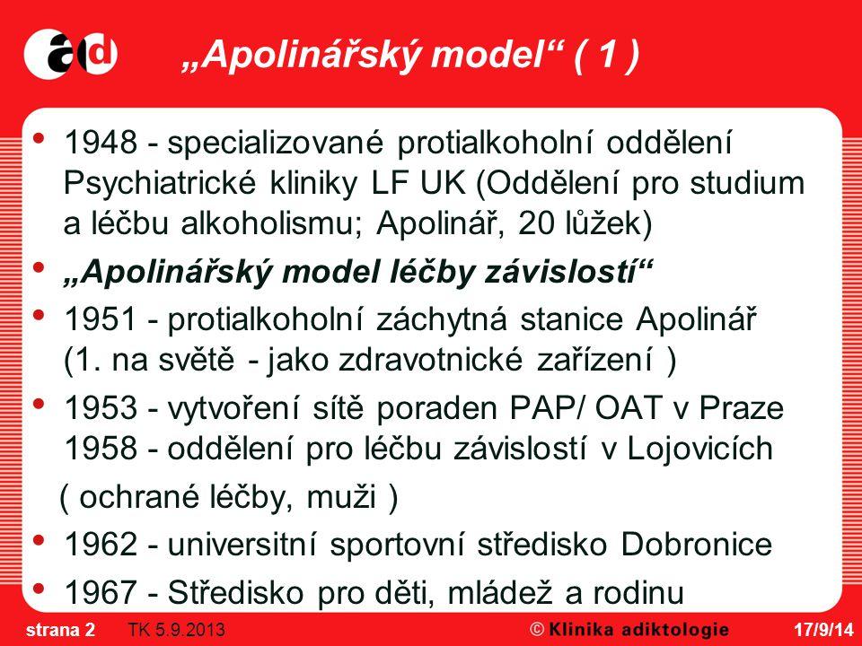 """""""Apolinářský model ( 1 )"""