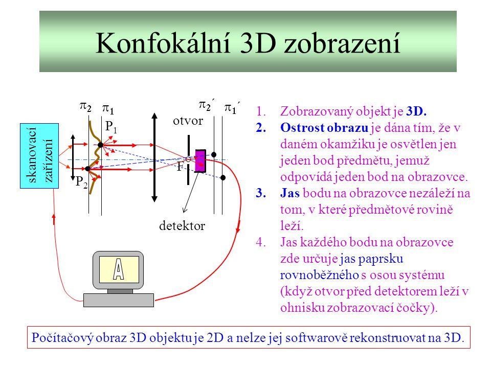 Konfokální 3D zobrazení