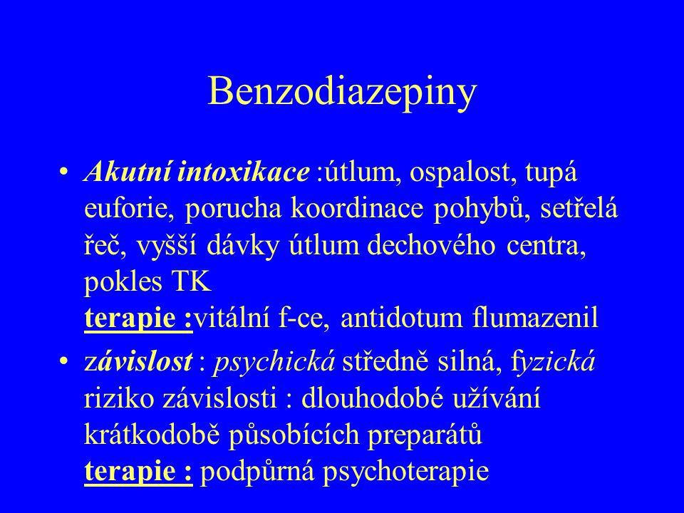 Benzodiazepiny
