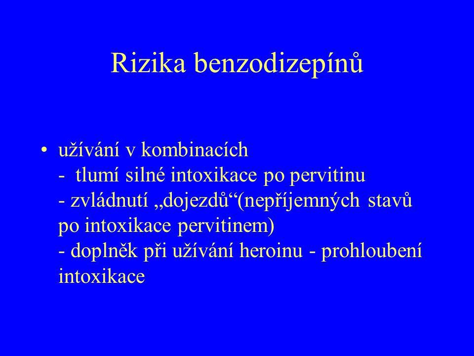 Rizika benzodizepínů