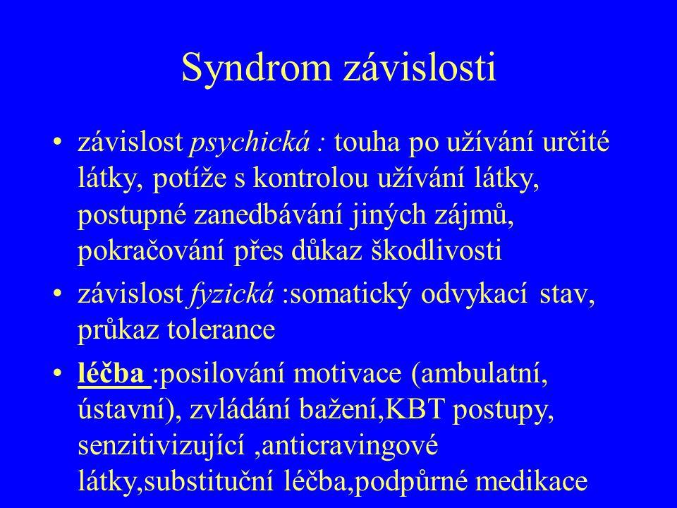 Syndrom závislosti