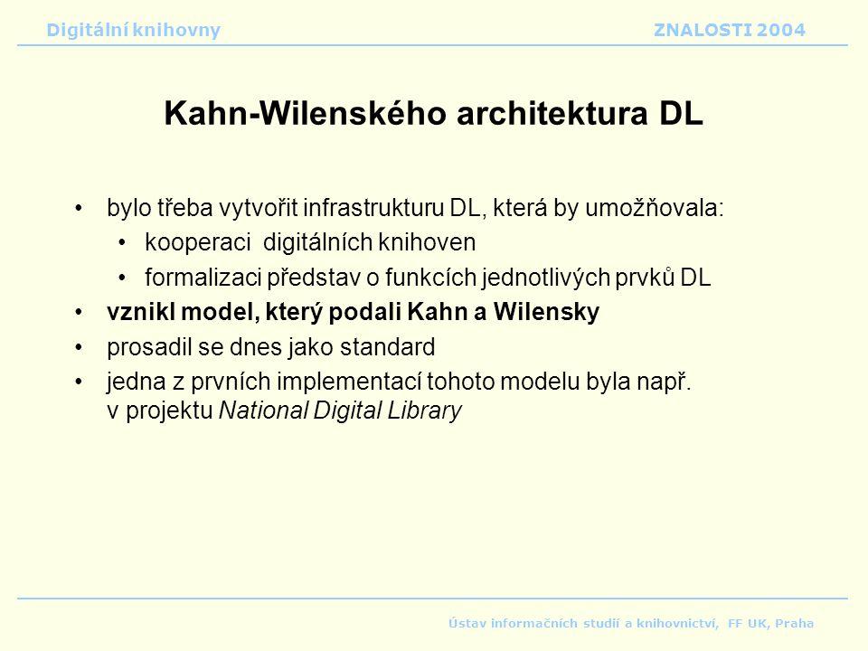 Kahn-Wilenského architektura DL
