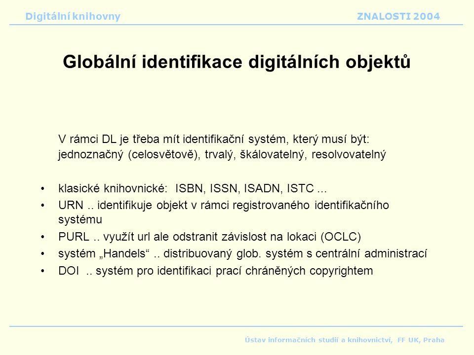 Globální identifikace digitálních objektů