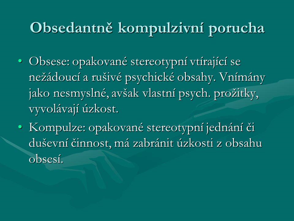 Obsedantně kompulzivní porucha