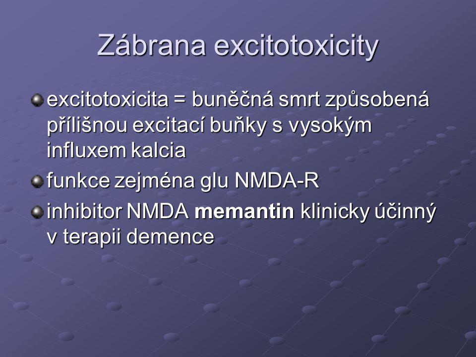 Zábrana excitotoxicity