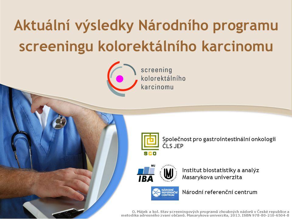 Aktuální výsledky Národního programu screeningu kolorektálního karcinomu