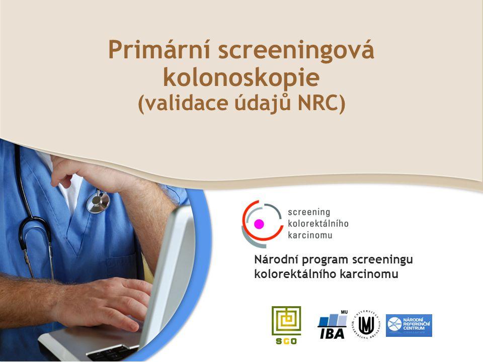 Primární screeningová kolonoskopie