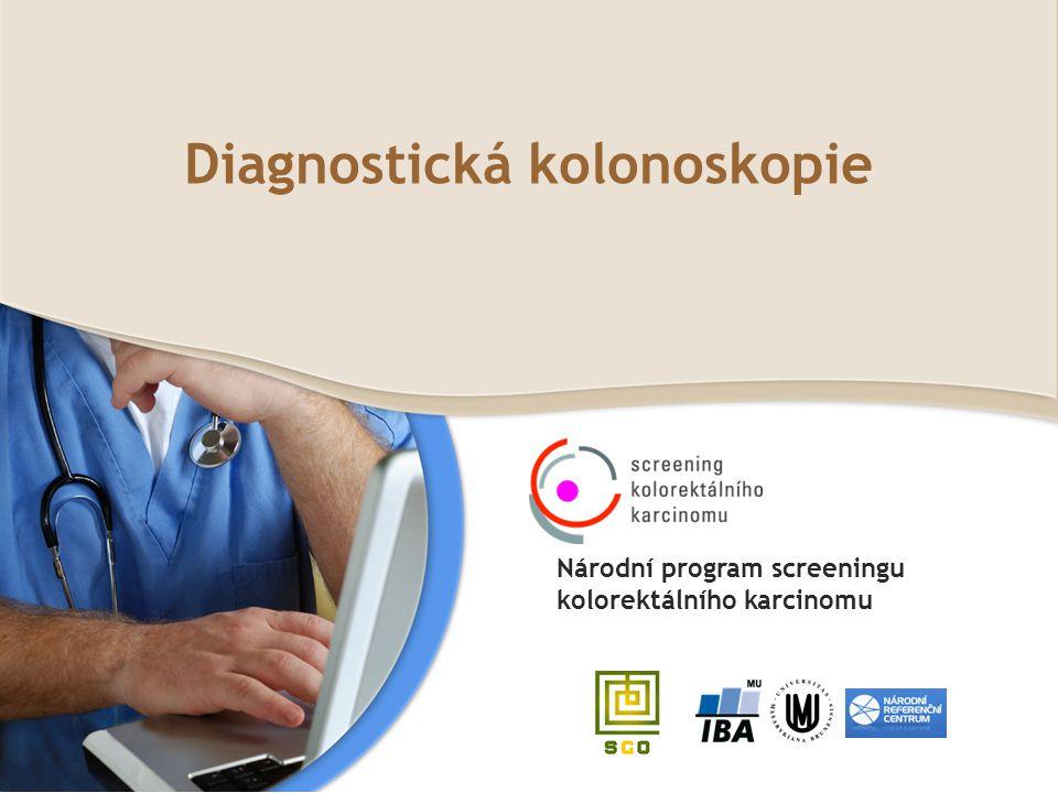 Diagnostická kolonoskopie