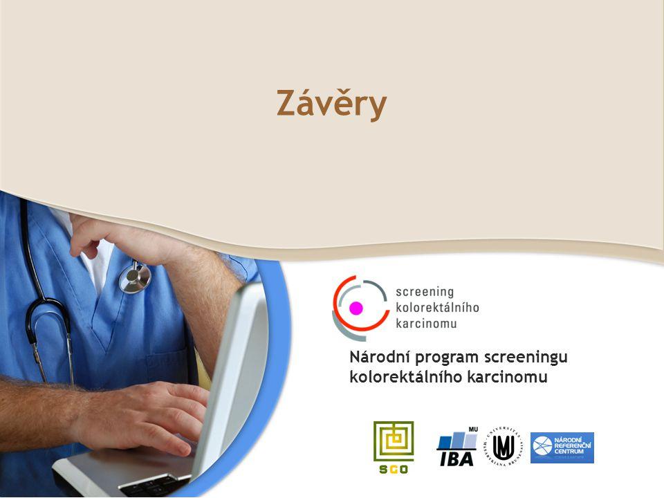 Závěry Národní program screeningu kolorektálního karcinomu