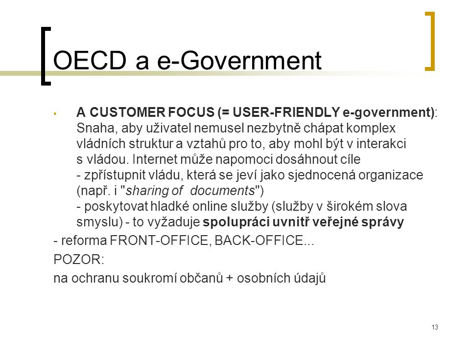OECD a e-Government