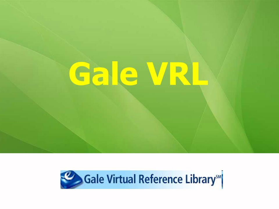 Gale VRL