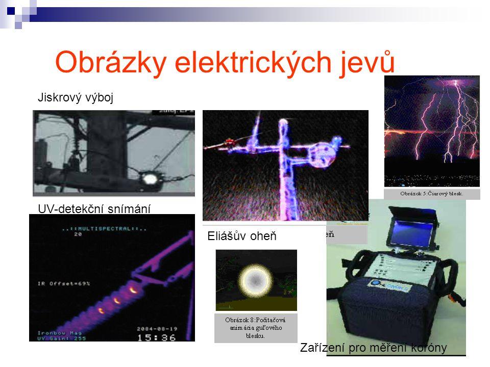 Obrázky elektrických jevů