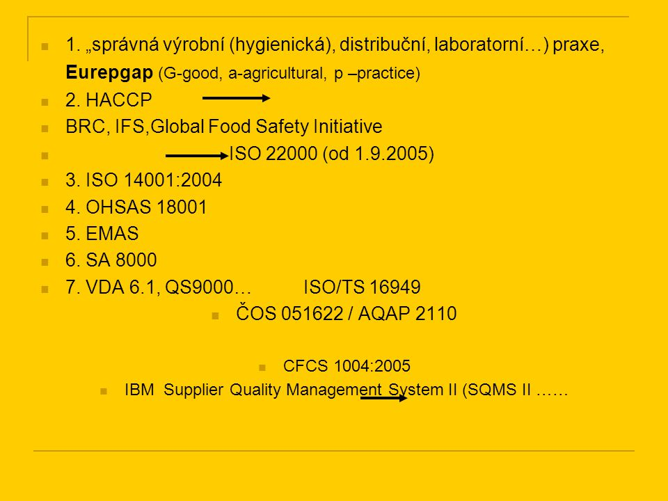 IBM Supplier Quality Management System II (SQMS II ……