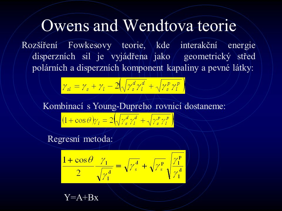 Owens and Wendtova teorie