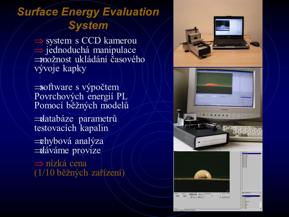 Surface Energy Evaluation System