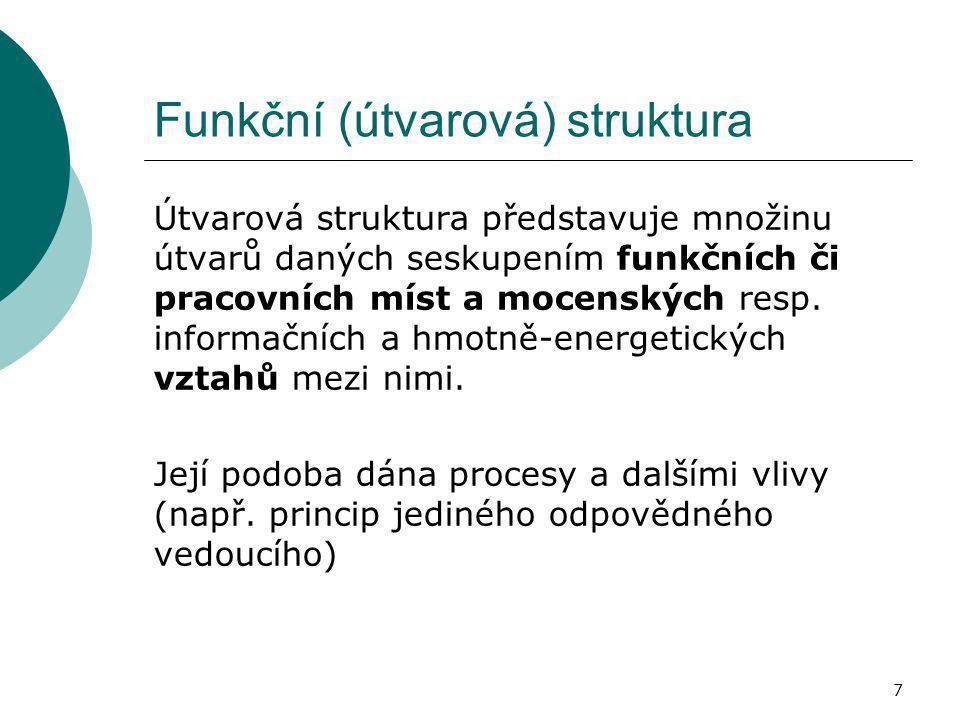 Funkční (útvarová) struktura