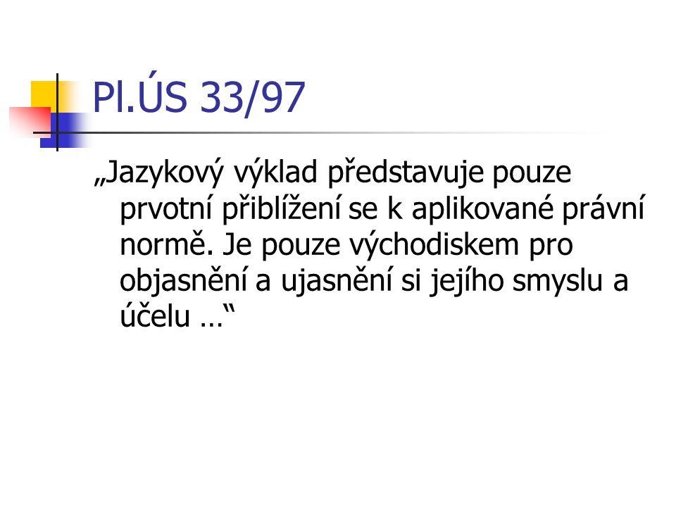 Pl.ÚS 33/97