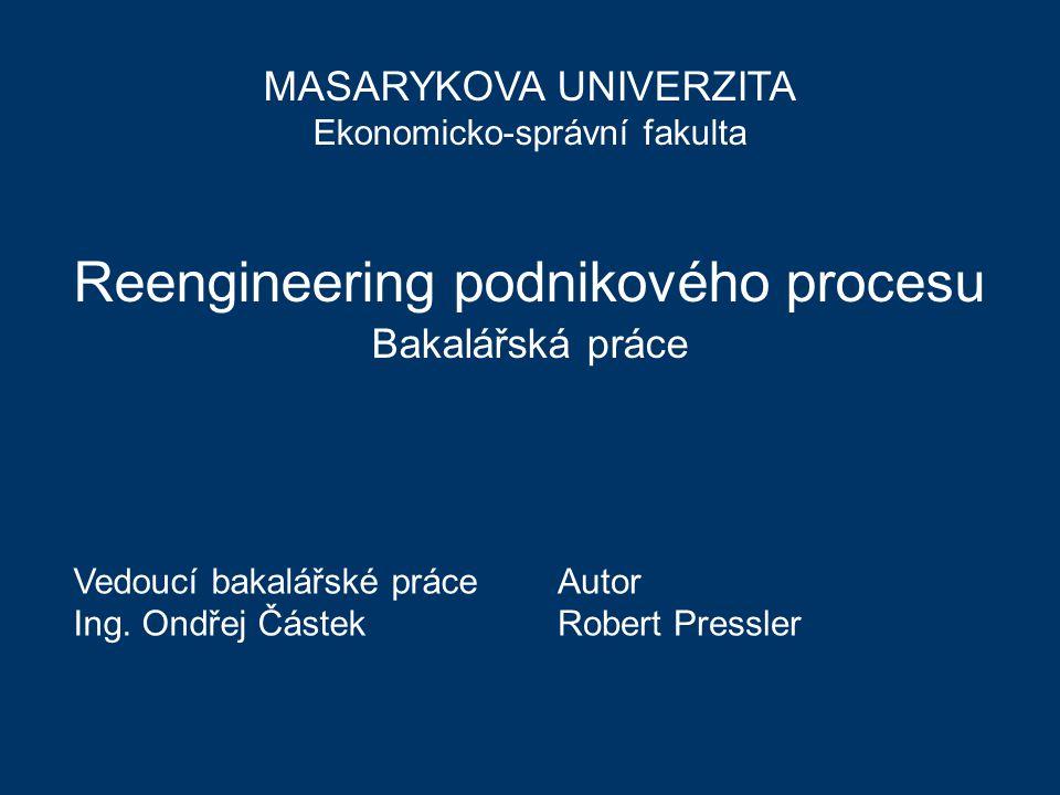 Reengineering podnikového procesu