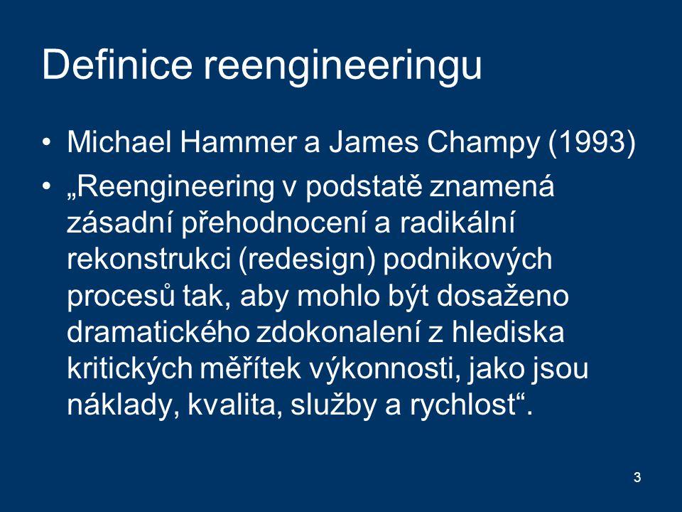Definice reengineeringu