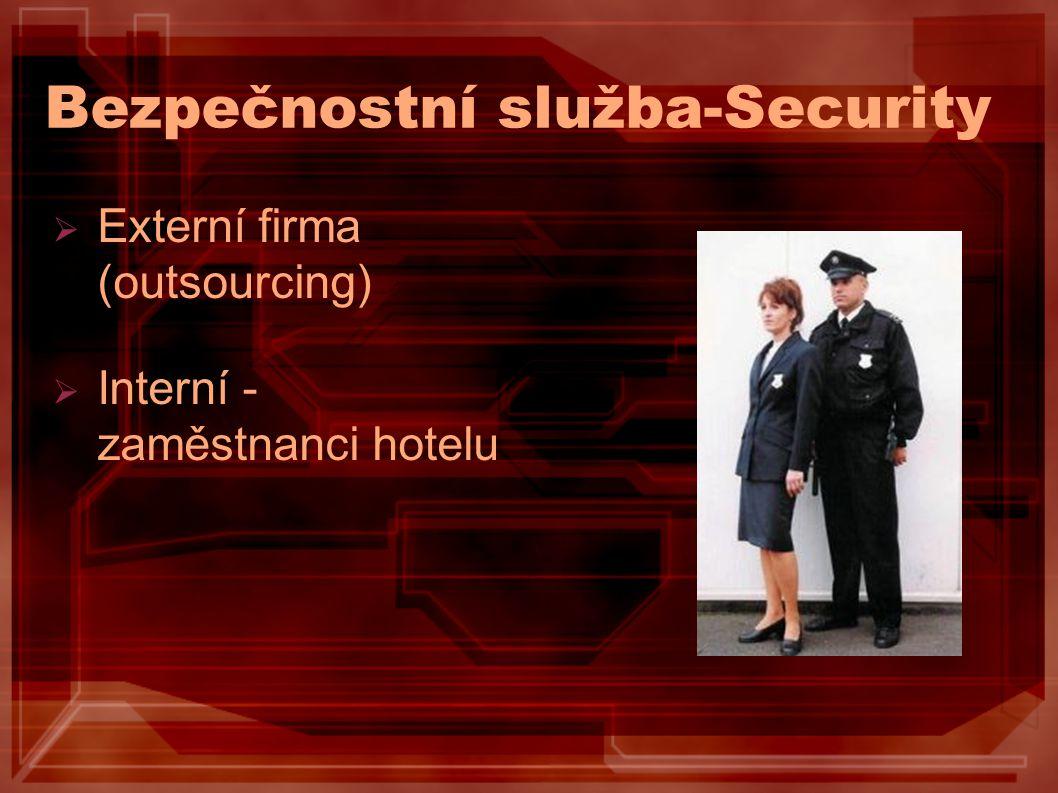 Bezpečnostní služba-Security