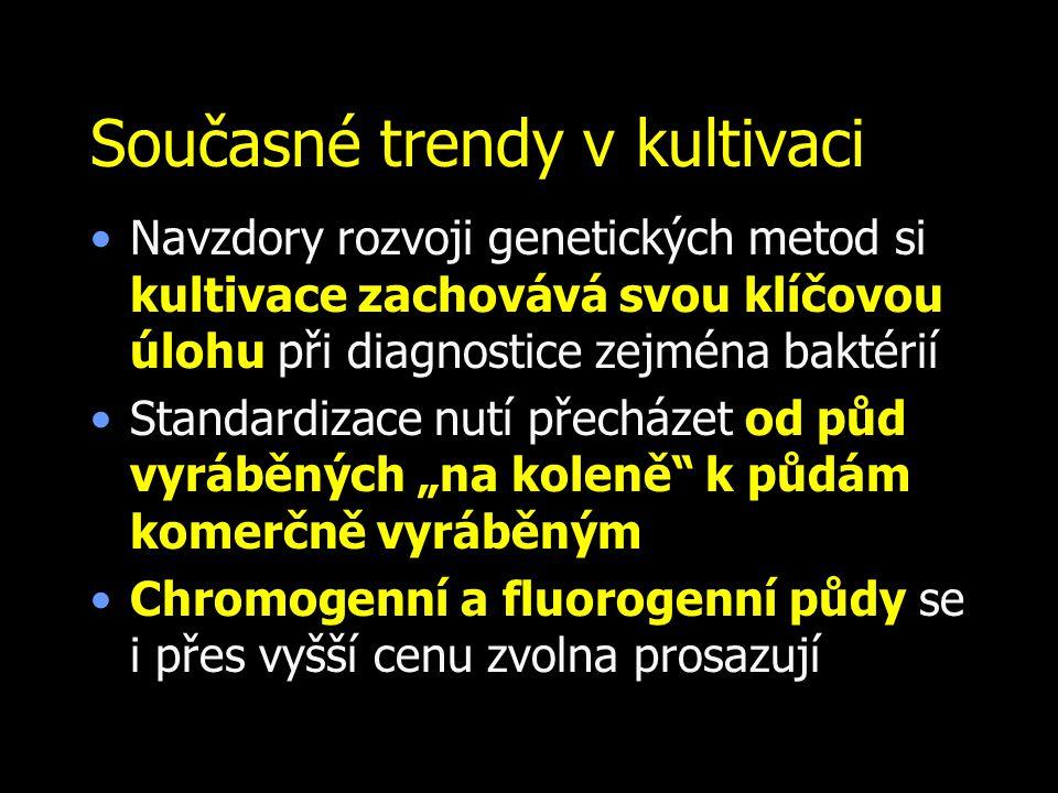Současné trendy v kultivaci
