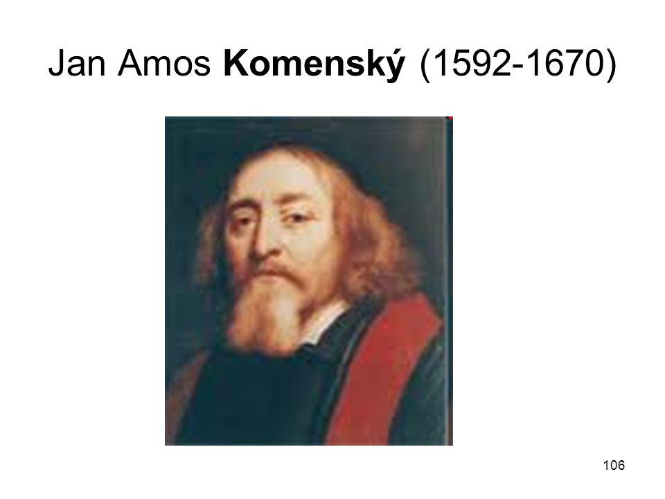 Jan Amos Komenský (1592-1670)