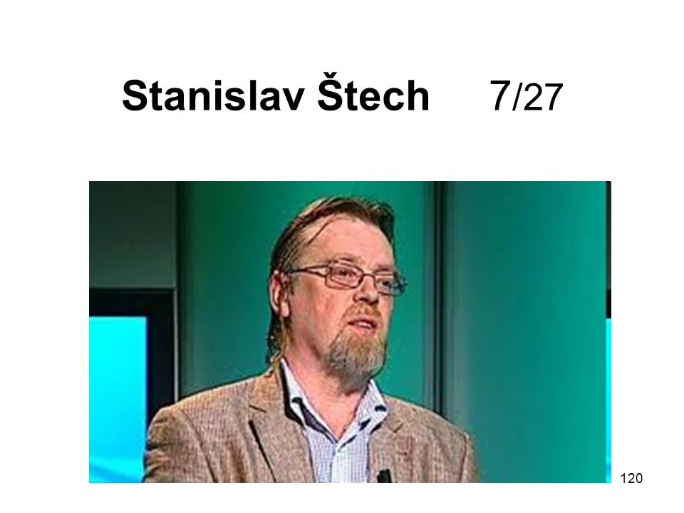 Stanislav Štech 7/27