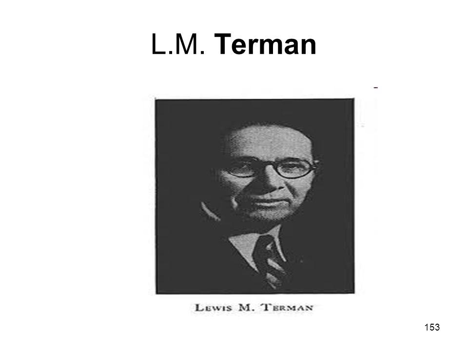 L.M. Terman