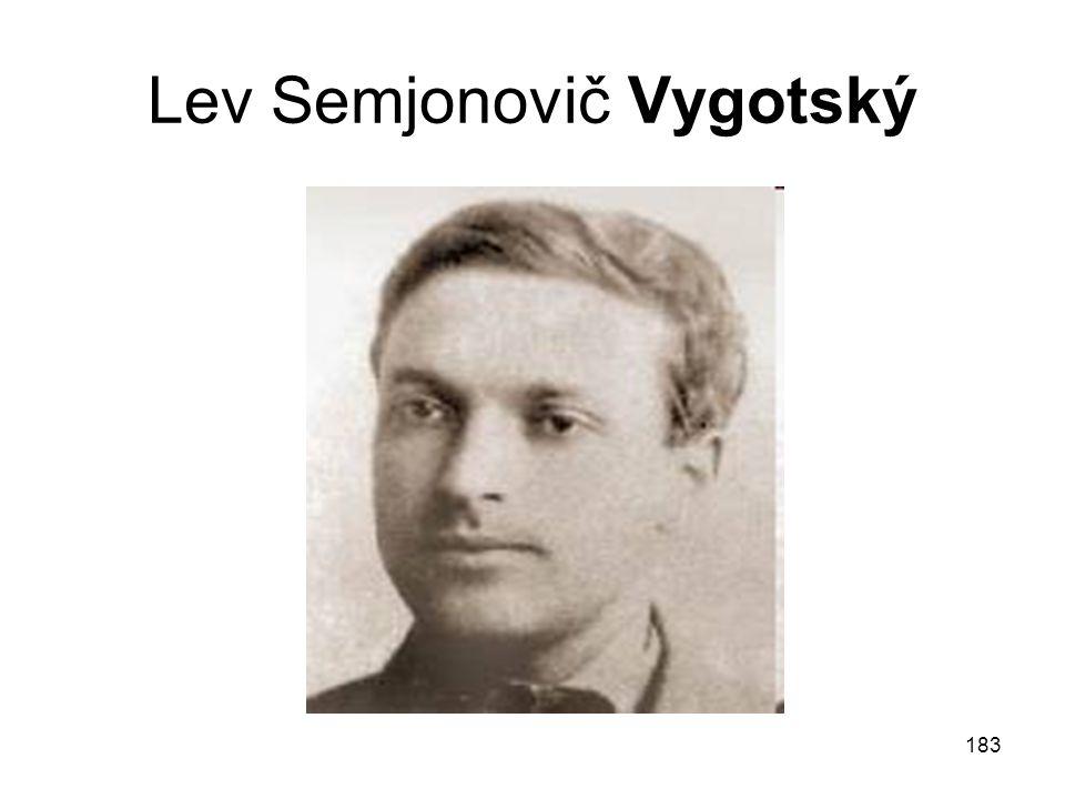 Lev Semjonovič Vygotský
