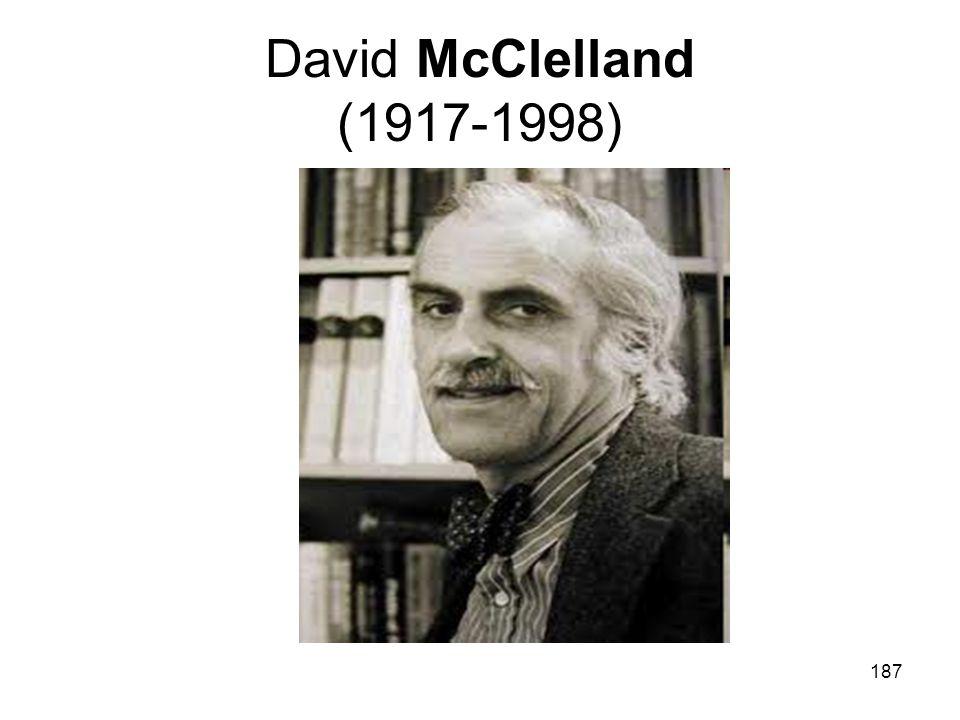 David McClelland (1917-1998)