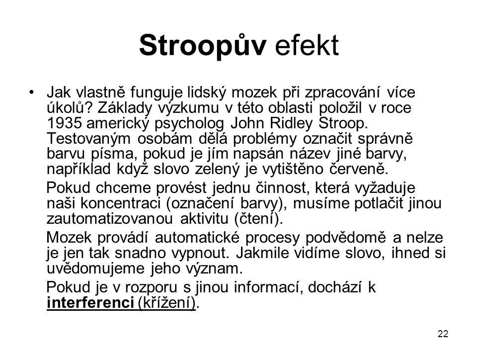 Stroopův efekt