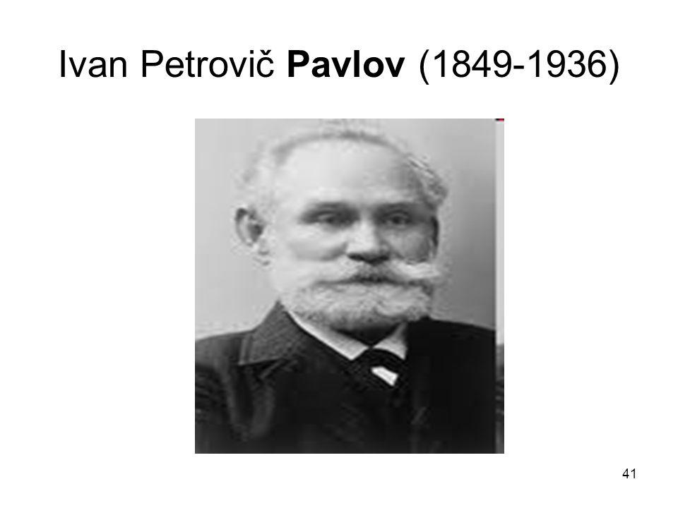 Ivan Petrovič Pavlov (1849-1936)