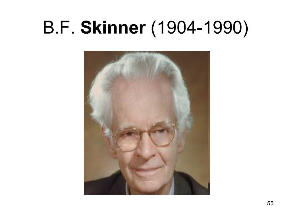 B.F. Skinner (1904-1990)