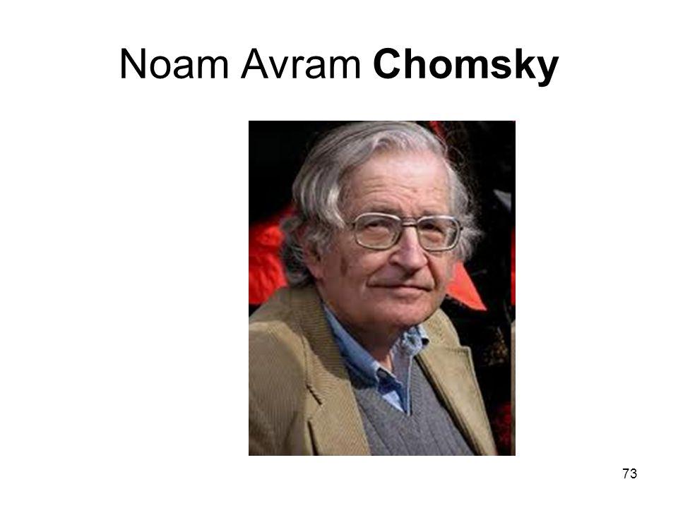 Noam Avram Chomsky