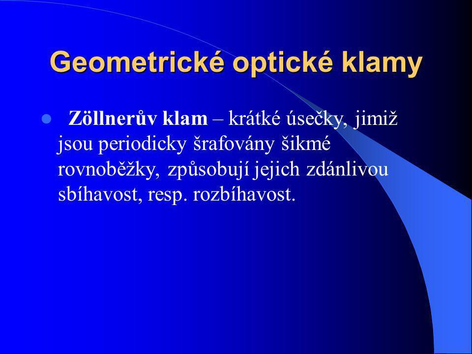 Geometrické optické klamy
