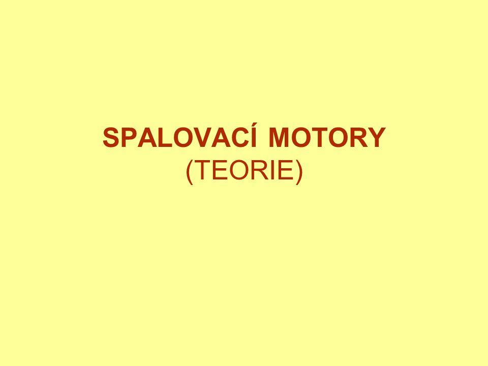 SPALOVACÍ MOTORY (TEORIE)