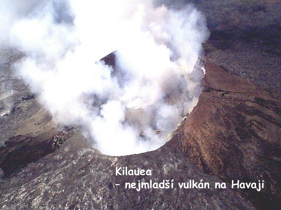 Kilauea – nejmladší vulkán na Havaji